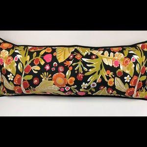 Pottery Barn Ariana Bright Colorful Lumbar Pillow